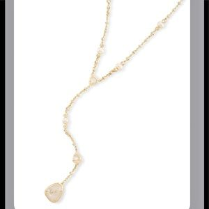 Kendra Scott Lucielle Necklace - Gold Ivory